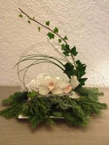 centre de table  orchidées en fete photo91-e1355256575322-225x300
